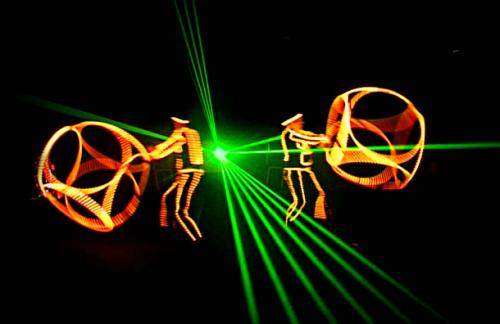 Home page photo - led laser